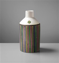 rare bottle, model no. 186, from the 'ceramiche' series by ettore sottsass