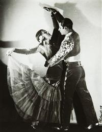 couple de danseurs by maurice tabard
