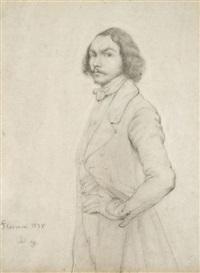 autoportrait by charles dugasseau