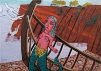 mermaid - figure head by costas grammatopoulos