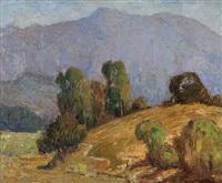 foothill landscape by oliver milburn