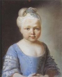 137a72742e5 Portrait de fillette. Attributed to François Hubert Drouais