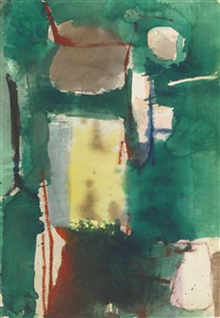 albuquerque, new mexico (double-sided) by richard diebenkorn