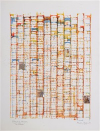portrait of hansor, the process i by brion gysin