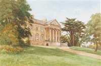 claremont house, surrey by cyril ward