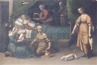 the birth of the virgin by giovan battista benvenuti