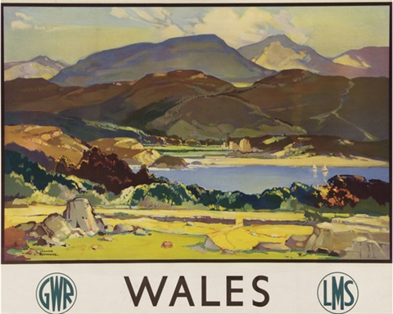 wales, gwr, lms by leonard richmond