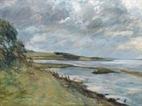 fiord scene by mogens gad
