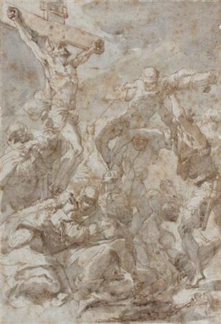 crucifixion by gaetano gandolfi