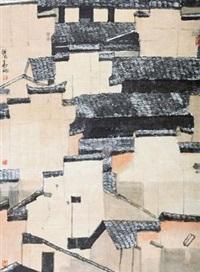 暮色 (landscape) by xu huaxiang