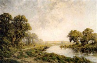 arun near houghton, sussex by harold goldthwaite
