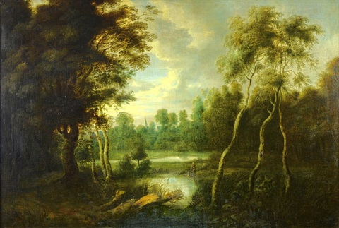 landscape with marshes by jacques d arthois