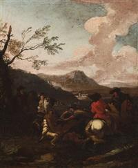 caccia al cervo by pandolfo reschi