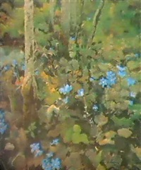 fleurs de printemps by euvgeni lesin