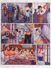 le bordel / cabaret des muses allez, darling by gradimir smudja