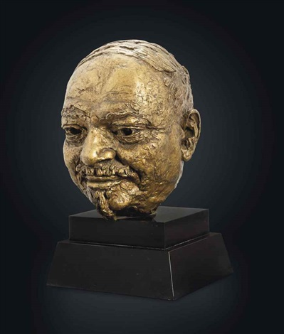 bust of ivan maisky by sir jacob epstein