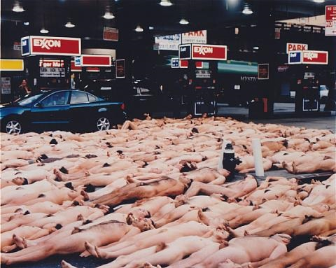 23rd street and 10th avenue nyc by spencer tunick