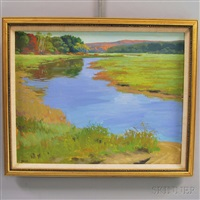 meandering river by steven allrich
