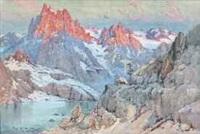le refuge. massif de belledonne dauphiné by émile appay