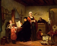 die orgelstunde by edouard jean conrad hamman