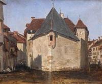les vieilles prisons d'annecy by léon-auguste mellé