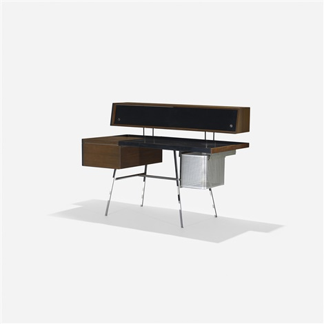 home office desk model 4658 by george nelson associates