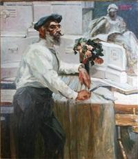 retrato torcuato tasso by fernando fader