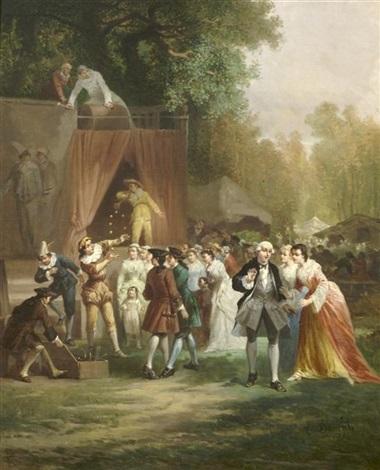 performance in the park by léonard saurfelt
