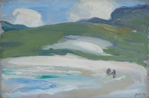 the sands barra by samuel john peploe