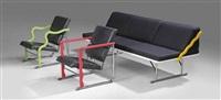 experiment lounge suite (set of 3) by yrjö kukkapuro