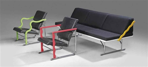experiment lounge suite set of 3 by yrjö kukkapuro