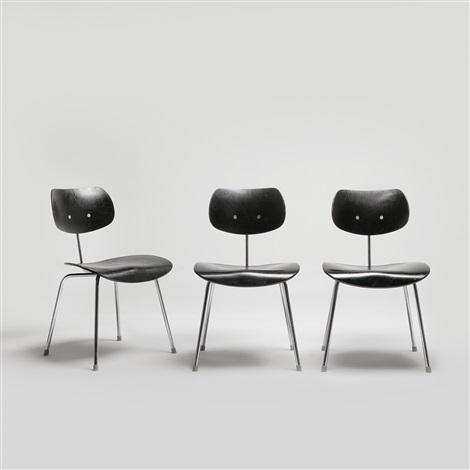 chairs (3 works) by egon eiermann