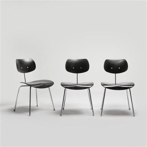 chairs 3 works by egon eiermann