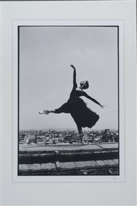 untitled (dancer on roof) by nigel scott