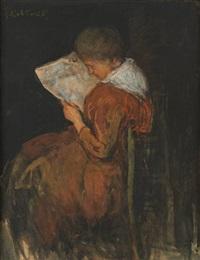 la lectrice by jacobs (jakob) smits