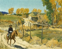 october morning by walter ufer