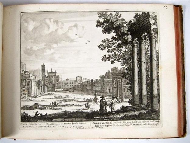 roma aeterna sive ipsius aedificiorum romanorum integrorum collapsrumque conspectus duplex 100 works in 8 by pieter petrus schenk