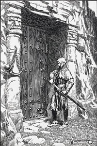 here plainly was the home of the enchantress - he drew his sword by norman ault