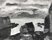 maine coast by niles spencer