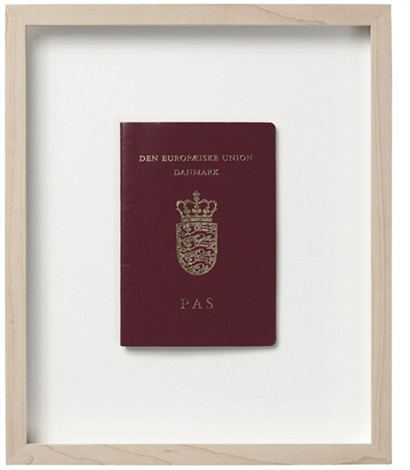 danish passport valid until 04092012 by jens haaning