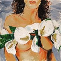 donna con fiori by januz haka