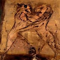 sans titre (lions de mycenes) by miklos bokor