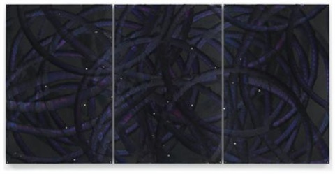 untitled triptych by aaron young