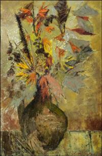 kukkia ruukussa by christina snellman