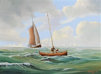 sails and seagulls by r. b. higgins