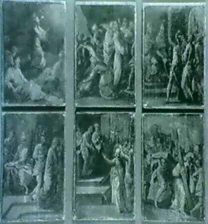 six scenes de la passion du christ le christ au jardin des oliviers by bartolome carducho carducci