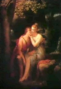 angelique et medor by antoine jean joseph ansiaux