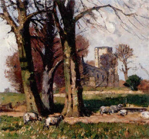 cumbuskenneth abbey by william yorke macgregor