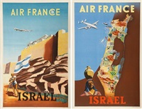 israël-air france (2 works) by renluc