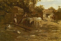 the drinking trough by harold joseph swanwick